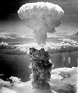 Home Comforts Mushroom Cloud Atomic Bomb Nuclear Explosion Laminated Poster Print 24 x 36
