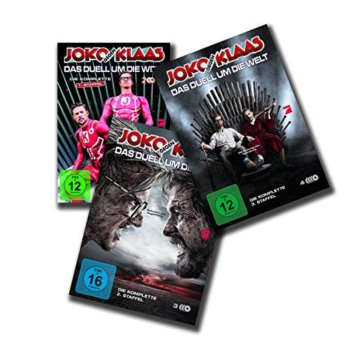 Joko gegen Klaas - Das Duell um die Welt: DVD-Set, 1. + 2. + 3. Staffel [9 DVDs]
