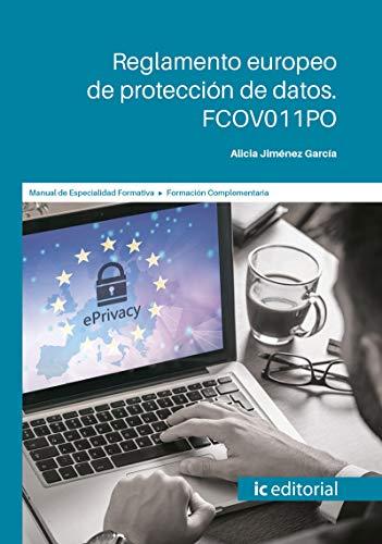 Reglamento europeo de protección de datos. FCOV011PO