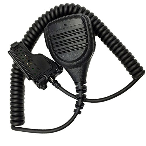 Weekend_PS MICR¨®Fono de Hombro Altavoz MICR¨®Fono de Solapa compatibles para Motorola Ht1000,...