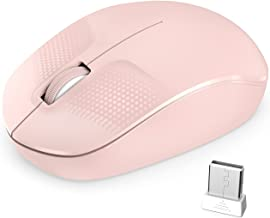 Wireless Mouse , COCNI 2.4G Computer Mouse with USB Receiver, Cordless Mouse &noiseless Portable Mobile Optical, Wireless ...
