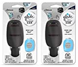 electric air freshener for car - Glade Plugins Car Starter Kit - New Car Feel - Starter Kit Contains: 1 Device & 1 Refill - Pack of 2 Starter Kits