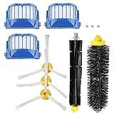 Nicoone Kit de accesorios de repuesto Cepillos laterales de...