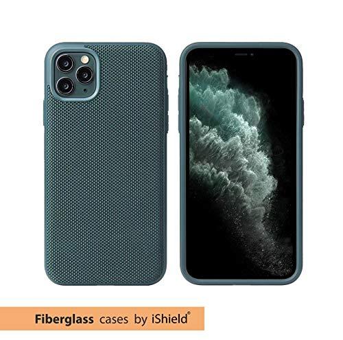 Glasfaser Extrem Schutzhülle von iShield Hülle für iPhone 11 Pro MODERNES Design UND ULTIMATIVER Schutz (Grün)