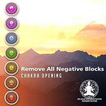 Remove All Negative Blocks (Chakra Opening)