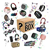 NBCV Caja Misteriosa,Caja Sorpresa,Mystery Box Electrónico,Cajas Sorpresa, Teléfonos Móviles, Portátiles, Relojes Inteligentes, Auriculares Inalámbric B