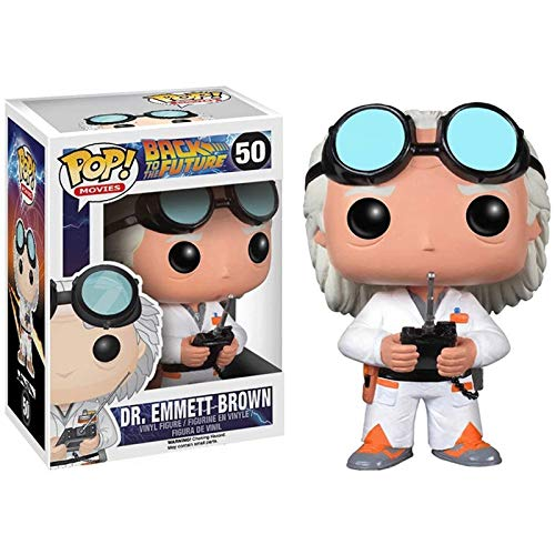 SuperMM Back To The Future #50 Dr. Emmett Brown Classic Bobblehead Figures