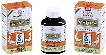 蘭卅佛慈附子理中丸 Lan Zhou Foci - Fuzi Lizhong Wan - Herbal Supplement- 200 Pills