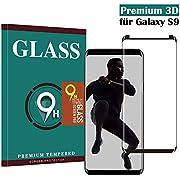 Samsung Galaxy S9 Panzerglas Schutzfolie , Hohe Qualität 3D Displayschutzfolie [Ultra Klar] [9H Härtegrad] [Case- Friendly] [Anti-Fingerabdruck] [Anti-Kratzen]Gehärtetes Glas Panzerglas Folie für Samsung Galaxy S9