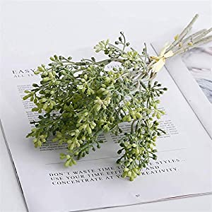 Fake Plants Artificial Lilacs Holding Flowers, Clove Flowers Plant Bouquets, DIY Wedding Home Table Decor Fake Flower