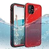 DOOGE iPhone 11 6.1 Waterproof Case, IP69k Certified Shockproof Dirtproof Snowproof Full-Body Heavy Duty Protection Rugged Waterproof Case with Kickstand Screen Protector for Apple iPhone 11 6.1'