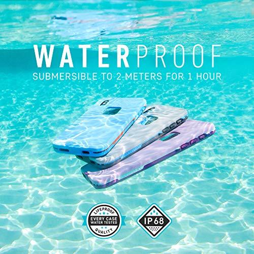 LifeProof FRĒ SERIES Waterproof Case for iPhone Xs (ONLY) - Retail Packaging - ASPHALT (BLACK/DARK GREY)
