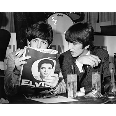 The Beatles Paul McCartney and George Harrison 1964 Photo Print 11x14/""