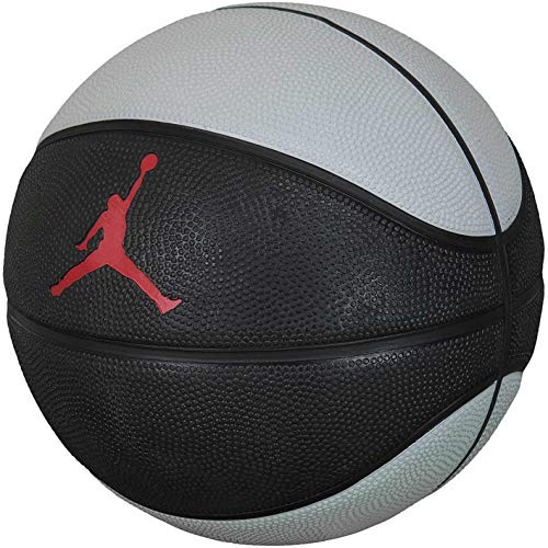 Nike Jordan Skills Mini Basketball (3, Black/Grey/red)