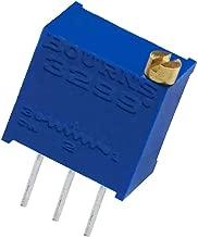 3299W-1-202LF 3299W-1-202 Resistor Cermet Trimmer 2K Ohm 10% 0.5W(1/2W) 25(Elec) Turn 2.29mm (9.53 X 6.1 X 11.55mm) Pin Thru-Hole