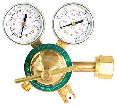 Flame Technologies VMOR-22 Medium Duty Oxygen Regulator, Victor Compatible