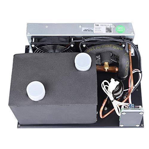 Micro DC acondicionador de aire, DC 12V 450W R134A refrigerante, potente acondicionador de aire para el coche, sistema de enfriamiento de aire acondicionado Compresor micro DC, sistema de enfriamiento