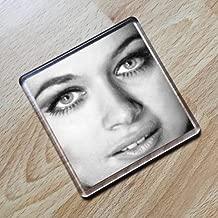 VALERIE LEON - Original Art Coaster #js007
