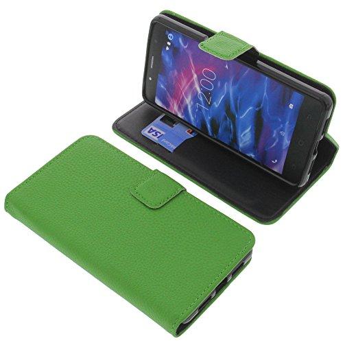 foto-kontor Tasche für MEDION Life S5004 Book Style grün Schutz Hülle Buch