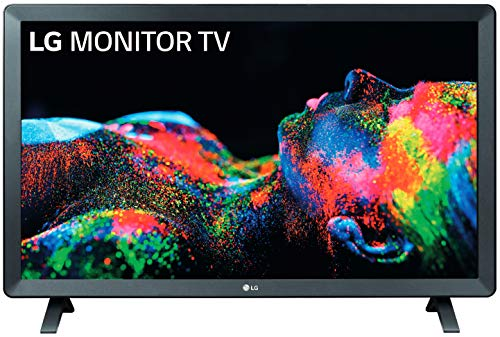 LG 24TL520S-PZ - Monitor Smart TV de 61cm (24') con pantalla LED HD (1366x768,...