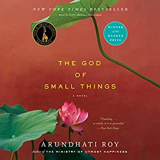 The God of Small Things audiobook cover art