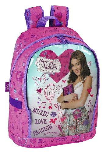 Zaino grande Violetta Disney musica