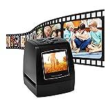 KK moon フィルムスキャナー デジタル化 EC718 35mm 高画質135mm デジタルコンバーター 高解像度 ネガティブスライド フィルムスキャナー コンバーターフォト デジタルイメージビューアー 2.36インチ LCD ビルドイン編集ソフトウォー