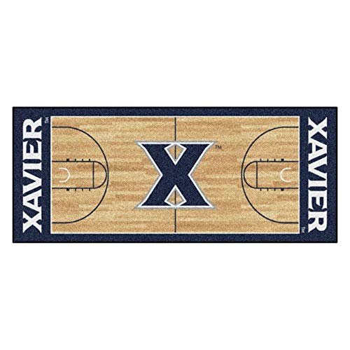 FANMATS NCAA Xavier University Musketeers Nylon Face Basketball Court Runner