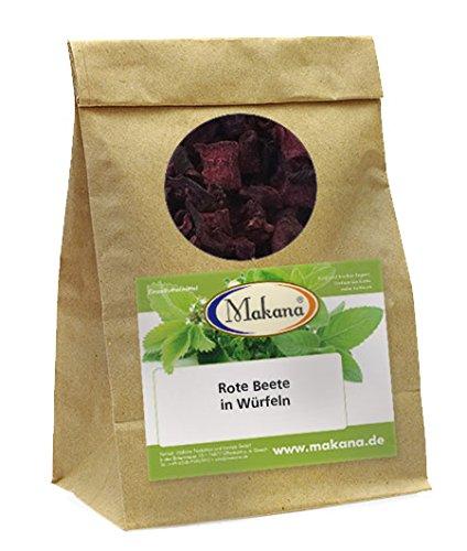 Makana rote Beete für Tiere, in Würfeln, 1er Pack (1 x 500 g)