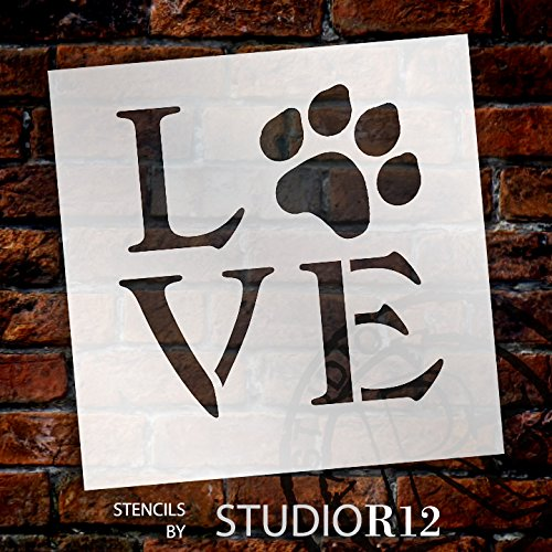 """Love Stencil by StudioR12 