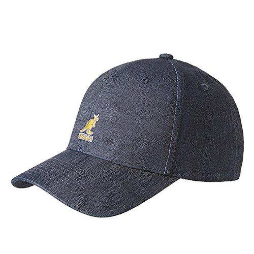 Denim Flexfit Baseballcap Kangol Sommercap Schirmmütze (L/XL (58-61) - denim)