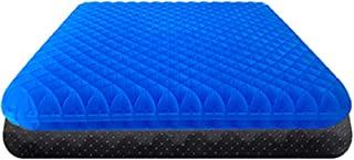Gel Seat Cushion, Breathable Cross Grids Honeycomb Egg Gel Cushion Chair Pads for Home Office Car Seat Wheelchair Help in ...