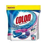 Colon Total Power Gel Caps Vanish Detergente para Lavadora con Agentes Quitamanchas, Formato Cápsulas - 50 Dosis