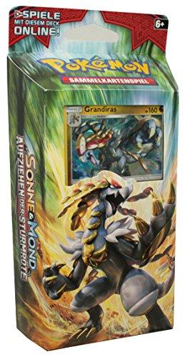 Pokémon Sonne Und Mond, Serie 4, Aufziehen Der Sturmröte Themendeck Donnerrasseln