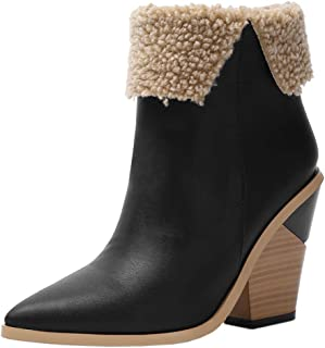 Melady Women Fashion Ankle Boots