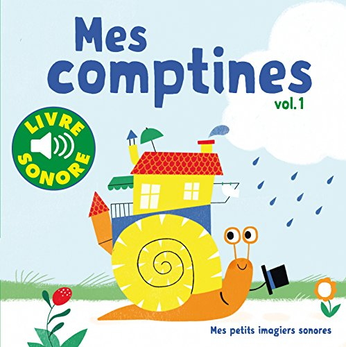 Livre sonore Mes comptines volume 1