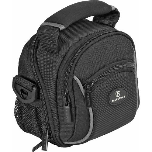 Pearstone Onyx 1000 Digital Camera/Camcorder Shoulder Bag