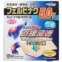 【第2類医薬品】オムニードFBプラスターα 16枚 ×4 ※セルフメディケーション税制対象商品