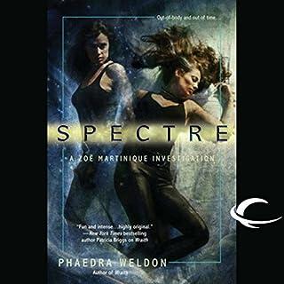 Spectre audiobook cover art