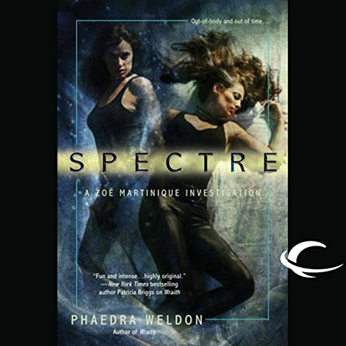 Spectre audiobook cover art