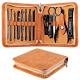 Manicure Set, FAMILIFE Professional Manicure Kit Nail Clippers Set 15 in 1 Stainless