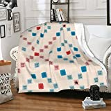 Scrabble Vintage gameboard Soft Cozy Blanket, Air Conditioner Blanket Premium Bed Throw Blanket
