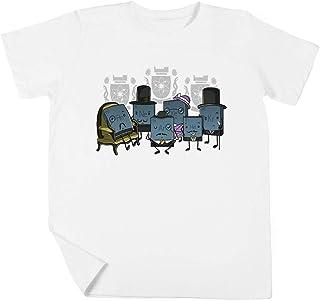 Noble Gases Niño Niña Unisexo Blanco Camiseta Manga Corta Kids White T-Shirt