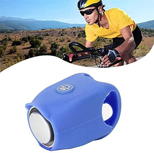 Chagoo 2021 Super Bike Horn, 120dB Bicycle Electric Bell (Blue)