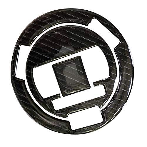 Fibra del carbón 3D Tanque de Gasolina Tapa de la Almohadilla de Relleno de la Cubierta de la Etiqueta engomada for la BMW HP2 Sport 10-11 / S1000R F650GS S1000RR Pegatinas de Motocicleta