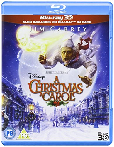 A Christmas Carol (Blu-ray 3D) [Reino Unido] [Blu-ray]