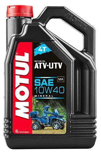 Motul 105879 ATV UTV 4T 10W40 aceite mineral de 4 litros