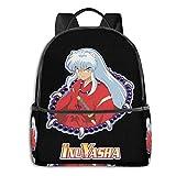 IUBBKI Zaino laterale nero Casual Daypacks Zwinz Inuyasha Backpack