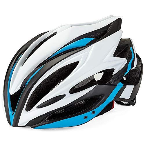 FAGavin Protector solar ligero a prueba de golpes integrado, casco de equitación, equipo deportivo, unisex (color: azul)