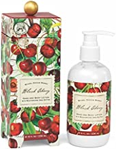 Michel Design Works Hand and Body Lotion, 8-Ounce, Black Cherry
